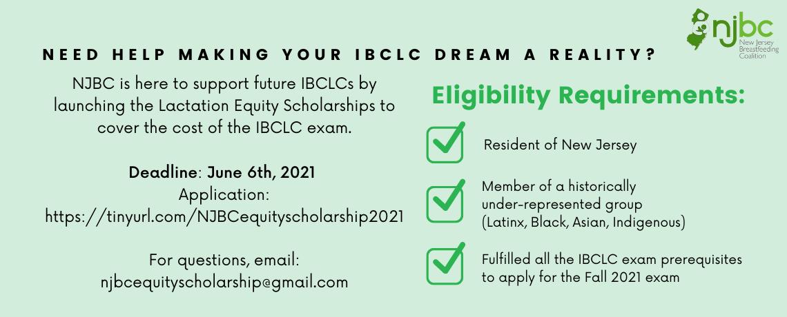NJBC Equity Scholarship